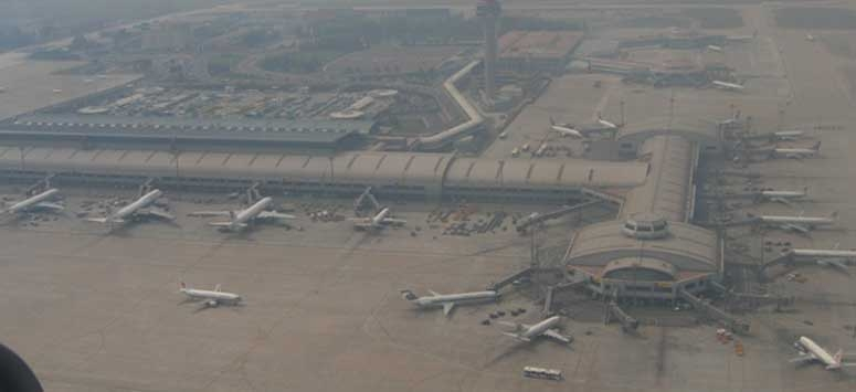Air Pollutions caused to cancel 227 flights departures