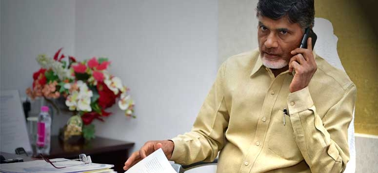 Chandrababu Naidu upset with Kuppam internal war