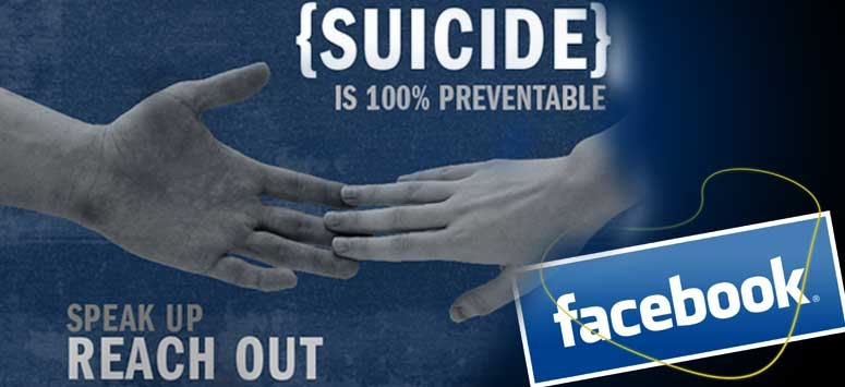 suicide rate down by facebook