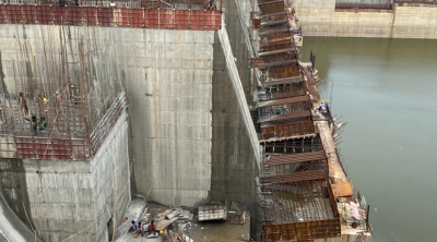 Polavaram: Coffer dam construction picks pace, ECRF works gather momentum