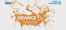 "DFWAC-UN organises ""Orange Campaign"" for violence against women"