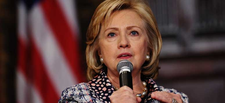 Hillary Clinton emerged as most admirable persons in US